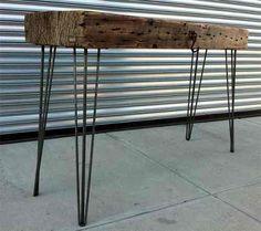 pata metal hairpin legs l=71 cm diseño mesa escritorio