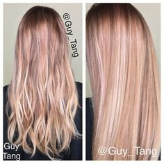 Blonde hair w/ dimension. (Different shades of blonde)