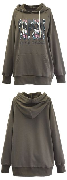 This hooded sweatshirt is completed with a lovely pattern and drawstring detailing. Perfect item to take you from desk to dinner. Have fun now!