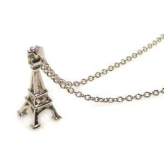 .925 Sterling Silver Rhodium Plated  Eiffel Tower Pendant Necklace  #CartsOnFire #shopwithapurpose