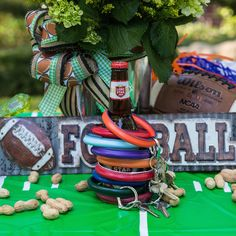 The Big O Key Ring makes tailgating and cheering on your favorite team O sO easy!