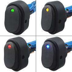 4 Pz/lotto 12 V 30Amp 30A Pin LED OFF/ON Interruttore A Bilanciere Heavy Duty Car Illuminato A LED Car Dashboard nautica Marine Interruttore 12 V