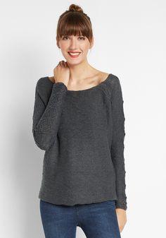 Ich habe diesen Style bei frontlineshop.com entdeckt. Was sagst du dazu? Cable Sleeeve Pullover!