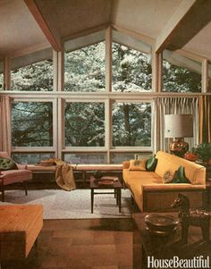 1960s Interiors Inspired By Mad Men, From House Beautiful - still lovely