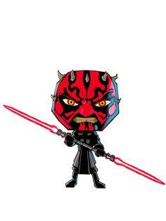 Artist Chibi-fies Characters from Star Wars: The Force Awakens - http://www.entertainmentbuddha.com/artist-chibi-fies-characters-from-star-wars-the-force-awakens/