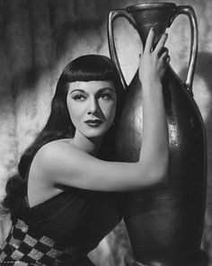 """""""When I see myself on the screen, I am so beautiful, I jump for joy!""""  ~ Maria Montez<3"""