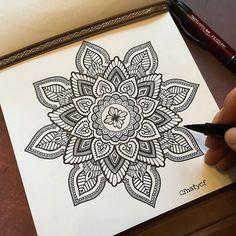 Just a little on my sketchbook... #mandala#worldofpencils#worldofartists#artoninstagram#zentangle#zendoodle#zentangleinspiredart#zentangleart#zentanglemandalalove#beautiful_mandalas#heymandalas#mandalamaze#mandalapassion#mandaladesign#iblackwork#blxckwork#mandalala#mandalasworld#doodleart#mandalastyle#mandalaplanet#drawing#sketchbook#dailyart#art_4share#sharingart#325kblackandwhitecontest#artistic_unity_#blxckmandalas#mandaladesign