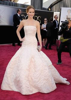 Jennifer Lawerence, never afraid to be herself. She also stands up for what she wants and looks beautiful doing it!!!!
