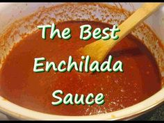 How to Make Ten Minute Enchilada Sauce - YouTube