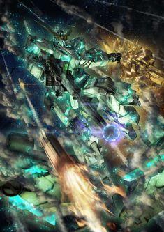 Gundam 00, Gundam Wing, Anime Couples Manga, Cute Anime Couples, Anime Girls, Rosario Vampire Anime, Gundam Wallpapers, Unicorn Gundam, 3d Fantasy
