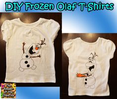 The Keeper of the Cheerios: DIY Frozen Olaf Shirts