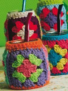 09 - Funda de mate - Crochet Souvenirs
