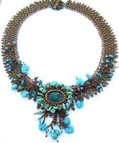 Glacier Florenze necklace by Cielo Design, via Flickr