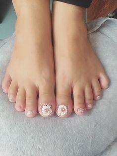 Toe Nail Art, Toe Nails, Toe Nail Designs, Mani Pedi, Pretty Nails, Polish Nails, Pedicures, Feet Nails, Cute Nails