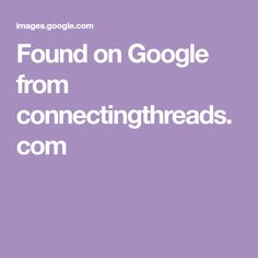 Found on Google from connectingthreads.com