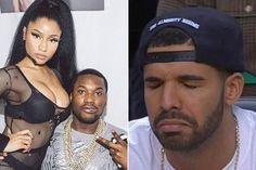 Nicki Minaj's Boyfriend, Meek Mill, Calls Out Nicki Minaj's Close Friend, Drake, For Using Ghostwriters