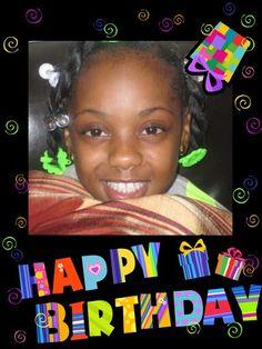 Myah's day !!!