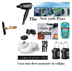 """""""Viaggio a New York, cosa  non deve mancare in valigia"""" by karin-varignani on Polyvore"""