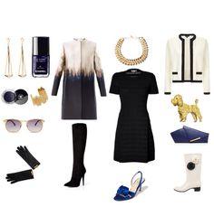 Un vestido negro tres atuendos #sbcomunicaciondemoda