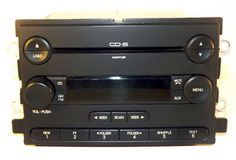Ford Five Hundred & Montego 2005-2007 AM FM mp3 6 Disc CD Part 5G1T-18C815-FB