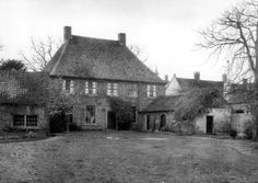 Nuenen, Netherlands. The Vicarage where Vincent lived with his parents from 1883-1885. To the right his annex studio