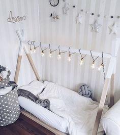 Alternative cheaper teepee style bed