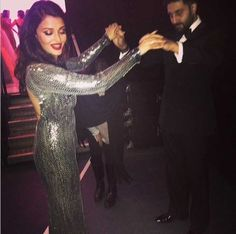 Aishwarya Rai Bachchan hits the dance floor with husband Abhishek Bachchan. #Bollywood #Fashion #Style #Beauty