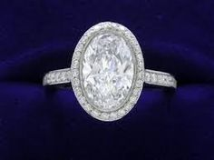I Really Like oval engagement rings