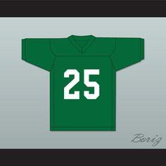 7019e7aaf3f Anthony Mackie Nate Ruffin 25 Marshall University Green Football Jersey We  Are Marshall