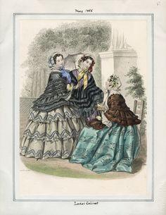 Ladies' Cabinet May 1855 LAPL