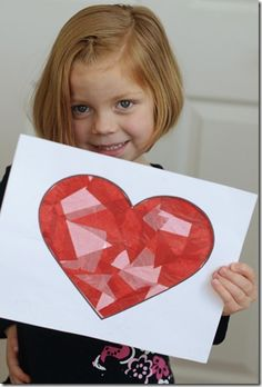 Easy Valentine craft