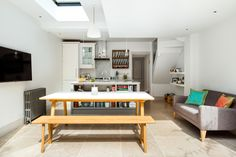 St Peters Terrace offered the opportunity to revitalise and extend a tired Victorian terraced house with rooms over 4 floors including a lower ground and loft. Light to the lower ground floor was a significant challenge due to the sunken garden and close neighbours to the rear. As well as...