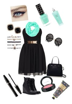 summer outfit by aysiastyle on Polyvore featuring polyvore fashion style Elise Ryan Forever 21 Kate Spade Fragments Wet Seal Cara Accessories The Row MAC Cosmetics Mary Kay Victoria's Secret William Morris clothing