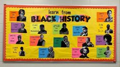 History Bulletin Boards, Elementary Bulletin Boards, College Bulletin Boards, History Classroom, Classroom Board, History Education, Future Classroom, Classroom Ideas, Black History Month Facts