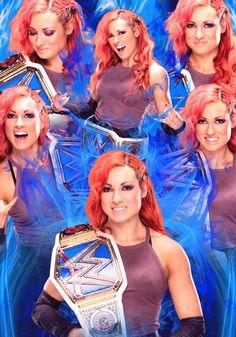 Smackdown Women's Champion Becky Lynch by CanadianCodeBreaker