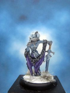https://flic.kr/p/PcZN4t | Painted Reaper Miniatures Ice Queen.