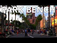 Disney Park Bench - Disney's Hollywood Studios - Sunset Boulevard