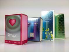 Grafische Groep Matthys - luxe verpakkingen - Luxe cosmetica verpakkingen met cold foil, CMYK en 3D patroon-UV Lak
