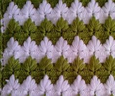 The Pattern of Lush Columns - Leaf Stitch  At last I found this pattern that you're loooking for. It's for you Carla Rioux...  From Banu Abdusselamoglu to Carla...And to all crochet lovers...