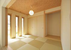 縦長3 連スリットの小窓 - 施工事例 - 株式会社ケンコーホーム