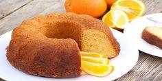 Orange Cake Stock Photo (Edit Now) 98381816 Flourless Orange Cake, Orange Bundt Cake, Healthy Cake, Almond Cakes, Arabic Food, Food Cakes, Cake Recipes, Food Porn, Good Food