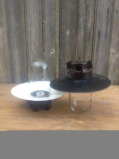 1 paire lampe industrielle vintage métal par VINTAGEorangeBAZAR