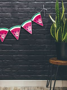 Party Garland WATERMELON