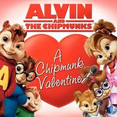 Alvin and the Chipmunks A Chipmunk Valentine by Kristen Mayer