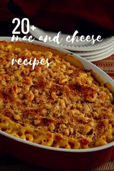 Love mac and cheese? Try out these 20+ variations on a classic!!