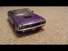 hi everyone this car is like the one i did when the channel started the red dodge Dodge Challenger, Diecast Models, Convertible, Channel, Car, Youtube, Automobile, Vehicles, Cars