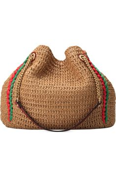 Handbags - I think they were my first fashion love (and if I had design skills, I would love to beco Cute Handbags, Beautiful Handbags, Crochet Handbags, Crochet Bags, Fashion Bags, Reusable Tote Bags, Nordstrom, Purses, Knitting