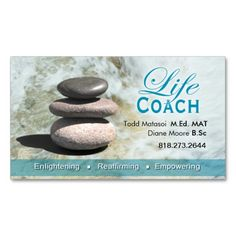 1477 Best Life Coach Business Cards Images On Pinterest Business
