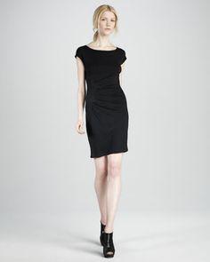 Gathered Jersey Dress by Catherine Malandrino at Neiman Marcus.