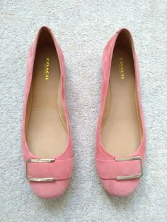 db1cc3cf4 Coach coral pink ballet flats. £65.00 only on Vinted. Click for more or
